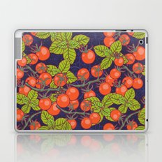 mysterious night in space garden with cherry tomatoes and basil Laptop & iPad Skin