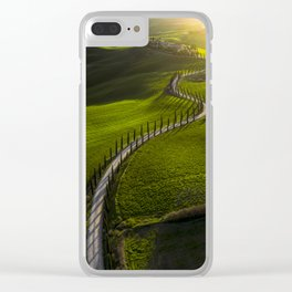 Above Tuscany Clear iPhone Case