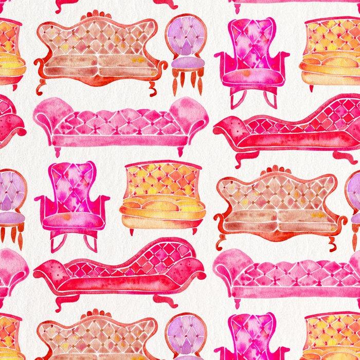 Victorian Lounge – Pink Palette Leggings