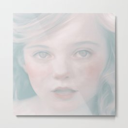 Hazel by Amelia Millard Metal Print