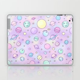 Pastel Planets Doodle Laptop & iPad Skin