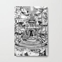 AL BUEN TIEMPO, MALA CARA Metal Print