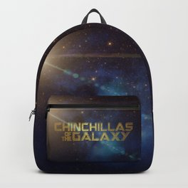 Chinchillas of the Galaxy Backpack