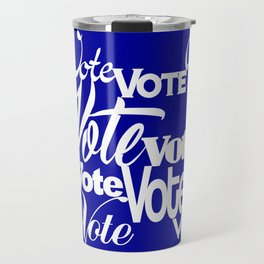 Vote! Blue Travel Mug