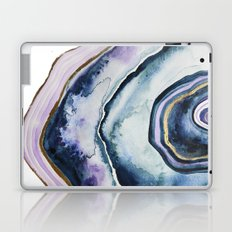 Purple Agate Watercolor Laptop & iPad Skin