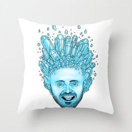 Crystal Pinkman Throw Pillow