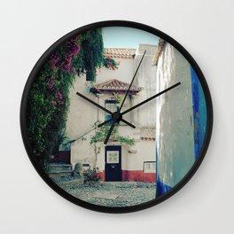 Portugal, Obidos (RR 183) Analog 6x6 odak Ektar 100 Wall Clock