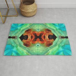 Soul Symphony - Abstract Art by Sharon Cummings Rug