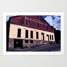 The Hawley Art Print