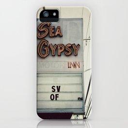 Sea Gypsy Inn iPhone Case