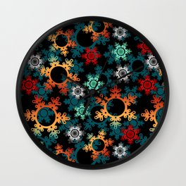 New year decor , new year, Christmas Wall Clock