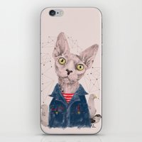 gangster iPhone & iPod Skins featuring The Gangster by dogooder