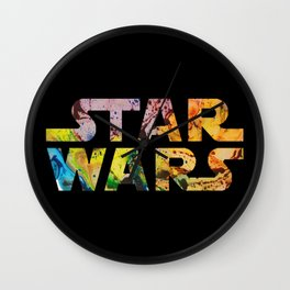 Abstract Wars 2 Wall Clock