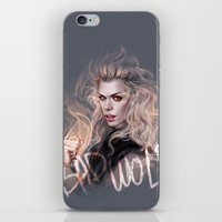 bad wolf iPhone & iPod Skins featuring Bad Wolf by jasric