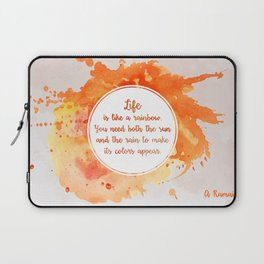 A. Ramaiya's quote Laptop Sleeve