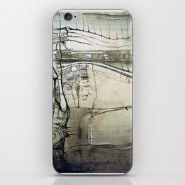 """Olmec"" iPhone Skin"