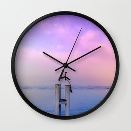 The guardian of time Wall Clock