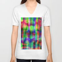 party V-neck T-shirts featuring Party. by Assiyam