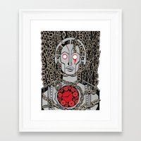 metropolis Framed Art Prints featuring METROPOLIS by Alberto Corradi