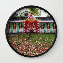 Santa's Getting Ready! Wall Clock