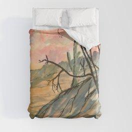Southwestern Art Desert Painting Duvet Cover