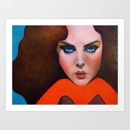 Gigantologia - le 2 buone sorelle Art Print