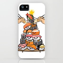 Sushi Xmas Tree iPhone Case