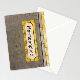 Berlin U-Bahn Memories - Hermannplatz Stationery Cards