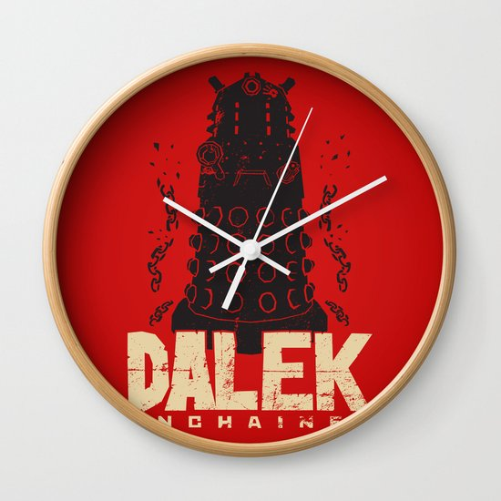 Dalek Unchained Wall Clock
