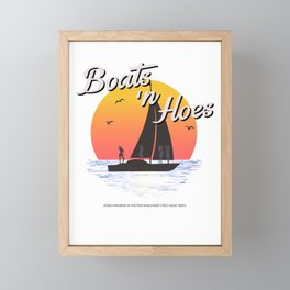 Boats n Hoes, World Premiere Of Prestige Worldwide's First Music Video, Step Brothers - First Word I Framed Mini Art Print