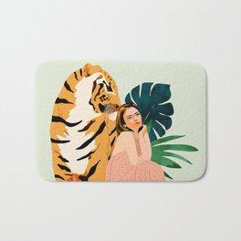 Tiger Spirit Bath Mat