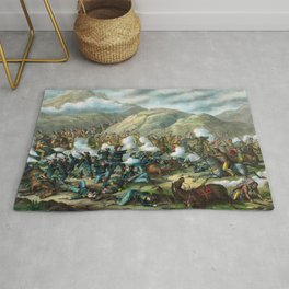 Little Bighorn - Custer's Last Stand Rug