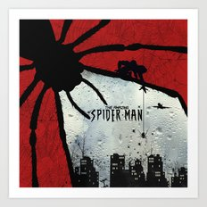 The Amazing Spider-Man : The Eye Art Print