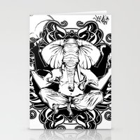 ganesh Stationery Cards featuring GANESH by Vee Ladwa