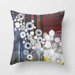 what the… Throw Pillow