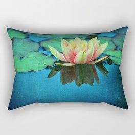waterlily textures Rectangular Pillow