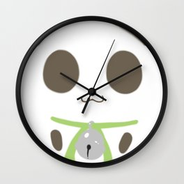 Cha Mao Wall Clock