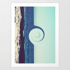 Ocean and Sky Art Print
