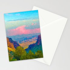 The Window at Big Bend National Park Stationery Cards