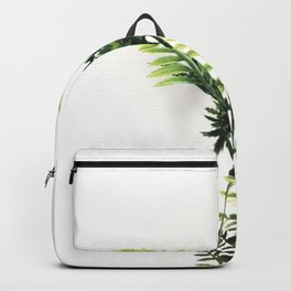 Feathered Green #1 Backpack