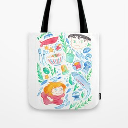 The Goldfish Girl Tote Bag