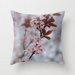 Flower photography by Skyla Design Throw Pillow