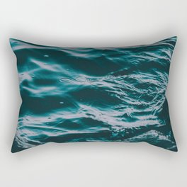 water waves Rectangular Pillow