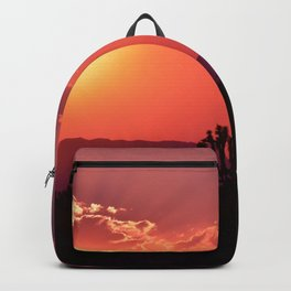 Desert Sunset Silhouettes Backpack