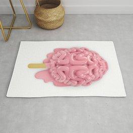 Popsicle brain melting Rug