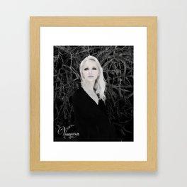 "VAMPLIFIED ""Creeping Vines"" Framed Art Print"