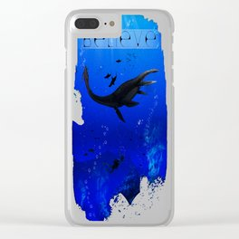 Out of Depth Believe Clear iPhone Case