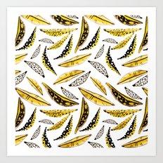 it's bananas! Art Print