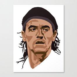 Ariel Ortega Canvas Print