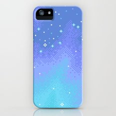 Twilight Nebula (8bit) Slim Case iPhone (5, 5s)